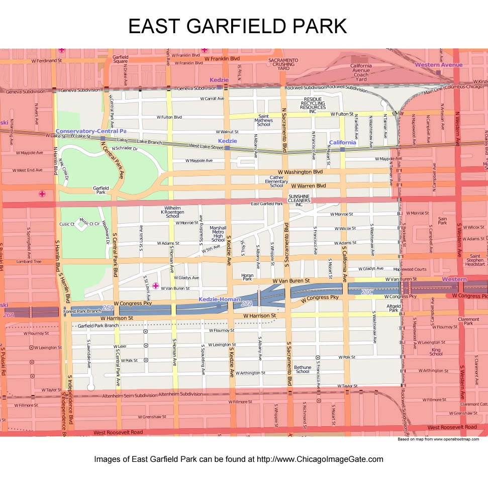 Garfield Park Chicago Map.East Garfield Park Chicago Photos Chicago Photos Images Pictures