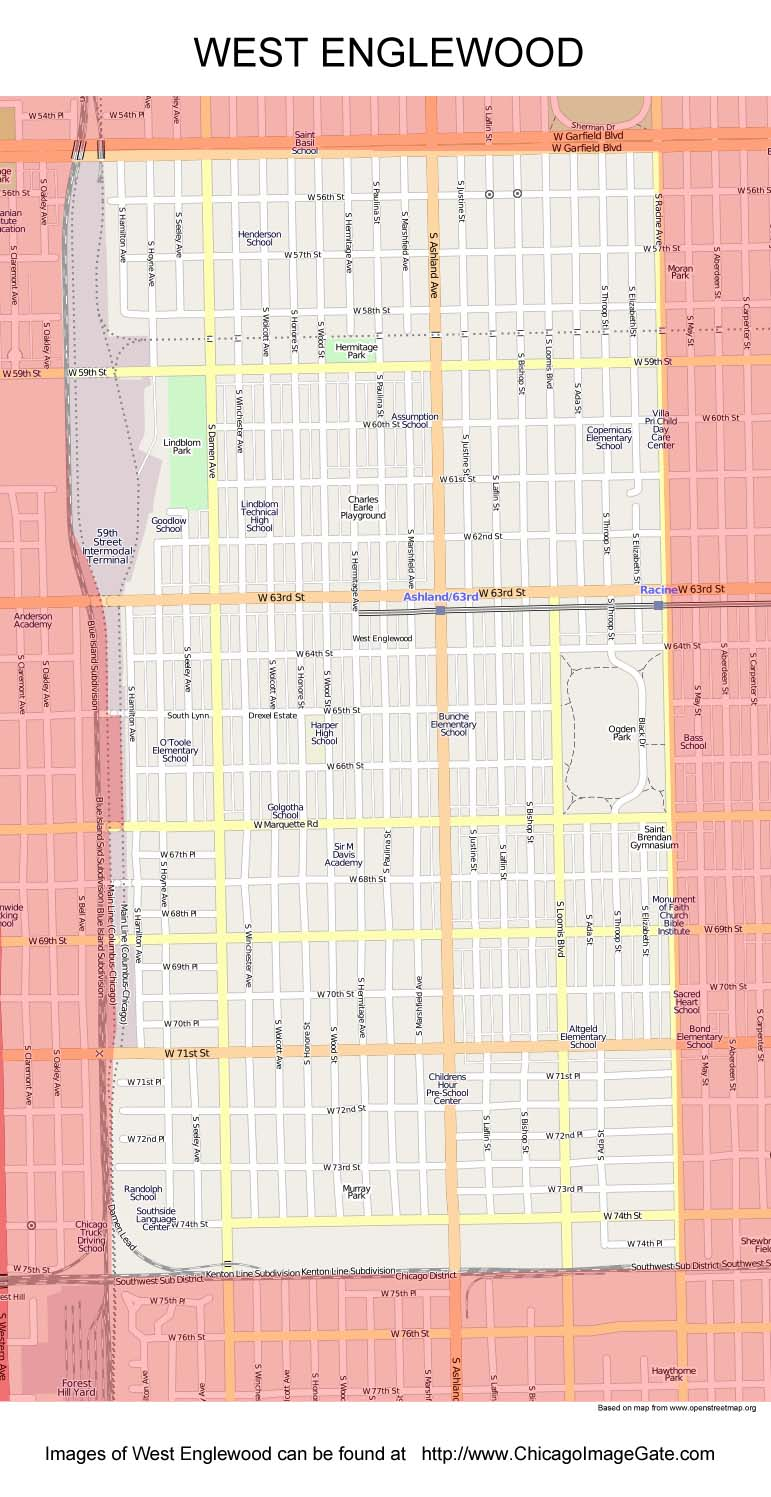 Chicago Community Area Maps