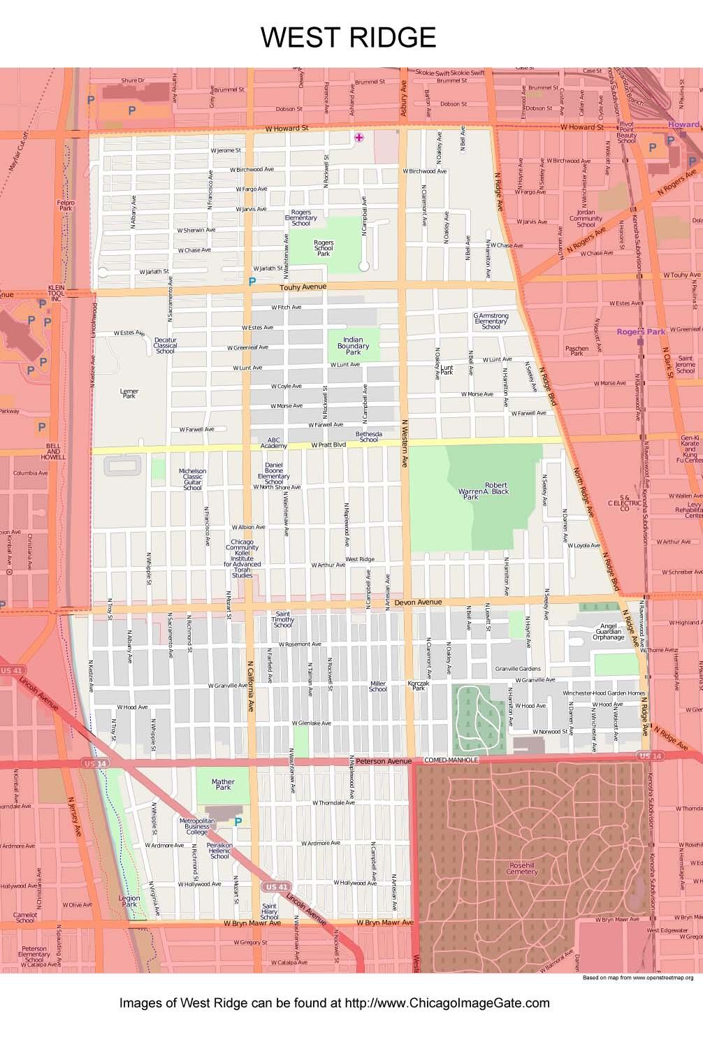 Chicago Community Area Maps